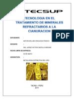 59484102 Tecnologia en El Tratamiento de Minerales Refract a Rio a La Cianuracion