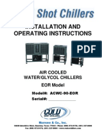 Chiller Installation Instructions