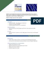 Trabajo de Investigación - LA UNION EUROPEA