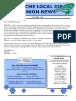 829 December 2014 Newsletter