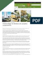 141219 - Jornal do Belvedere - Farkasvölgyi Se Destaca Em Projetos Corporativos
