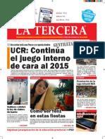 Diario La Tercera 22.12.2014
