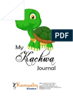 My kachwa Journal