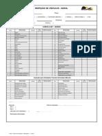 Chek List Inspeção Veículos - SGQ - 11.2010