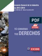 XVII Convenio General de La Industria Quimica 2013-2014
