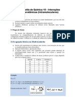 Interacoes Interatomicas Intramoleculares e28093 Professor Serginho