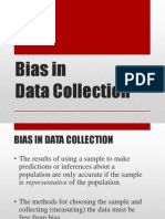 bias in data collection