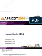 APRICOT2014 - Introduction to MPLS