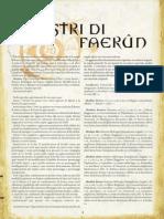 Aggiornamento 3.5 - Mostri Di Faerun