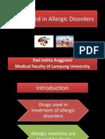 Drugs Used in Allergic Disorders2