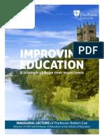 Improving Education 2013