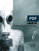 Professional Font Library 829