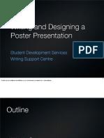 Academic Tasks - Posters - Presentation