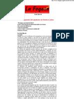 EZLN -Los impactos del zapatismo en América Latina (La Fogata - Raúl Zibechi)