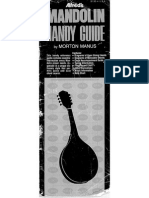 Alfreds Mandolin Handy Guide