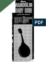 Alfreds Mandolin Handy Guide