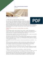 Versículos bíblicos que não existem
