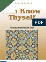 Man Know Thyself