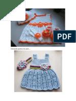 Varios Modelo de Roupas de Bebe Em Tricô