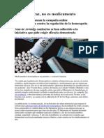 Si No Es Eficaz No Es Medicamento. La Homeopatía 2013