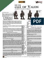 Flintloque Journals of Valon JOV02 Krautian Feldtechnics