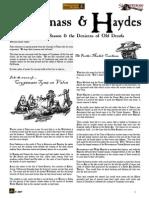 Flintloque Journals of Valon JOV04 Cryptmass & Haydes