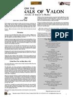 Flintloque Journals of Valon JOV05 Horcmanay