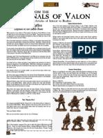Flintloque Journals of Valon JOV09 Sharkes Ryfles