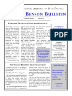 Benson Newsletter Volume 3 Issue 2