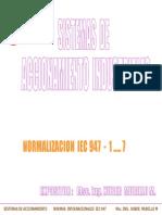 1.- Normalizacion IEC 947