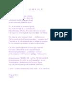 O M A G I U lui DUMITRU IOAN BRANC.doc