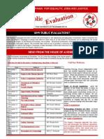 Newsletter - Nov 2014 Public Evaluations