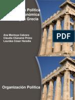 Grecia Organización Social,Politica y Economica