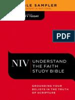 Understand the Faith Study Bible Sampler