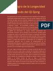 Las Experiencias de Muchos Practicantes de Esta Disciplina de Qi Qong Han Confirmado También Esta Afirmación
