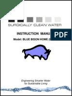 blue bison instruction