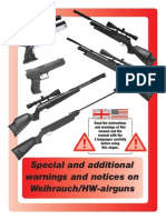 HW Warning Airguns Weihrauch