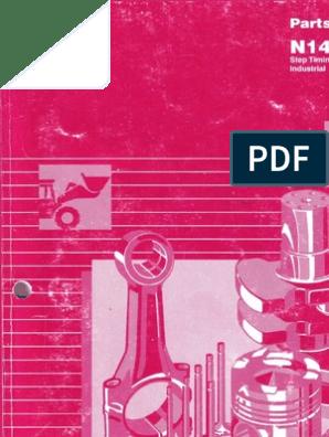 N14 parts catalog pdf   Piston   Cylinder (Engine)