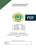 Format Pengkajian Kelompok Keperawatan Komunitas Sd