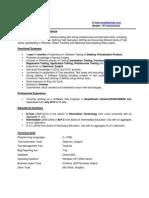 Testing 1Plus Resume 1