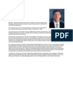Citibank N.A. - CEO Profile - Michael L. Corbat
