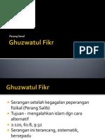 Slide Ghuzwatul Fikr
