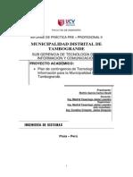 Informe Final de Practicas II- Riofrio Garcia