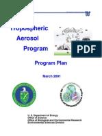 DOE - Chemtrails - Tropospheric Aerosol Program