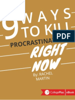 9 Ways to Kill Procrastination Right Now