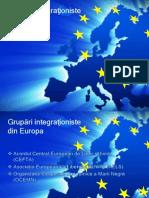 Grupări Integraţioniste Din Europa 1