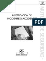 Mutual - Investigación Incidente Accidente