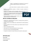 Apresentação Do Projeto - Metodologia