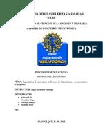 Informe 1 Laboratorio de Procesos