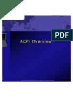 ACPI Overview